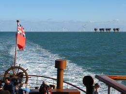 Thames Forts and wind generators